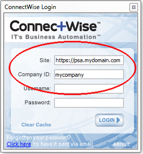 ConnectWise Client Example